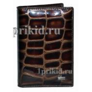 Обложка WANLIMA натуральная кожа цвет коричневый 10x14см/2191